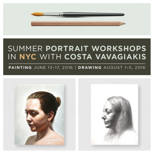 Announcing 2016 NYC Summer Portrait Workshops