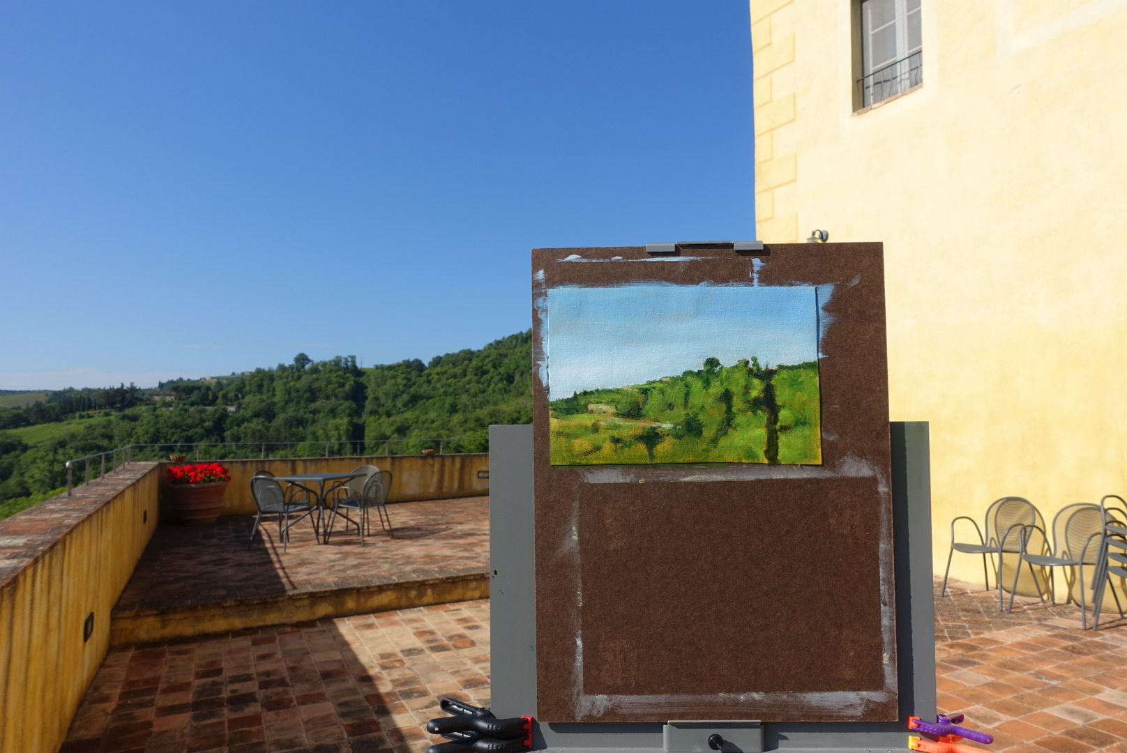 Plein Air in Tuscany, Day 2