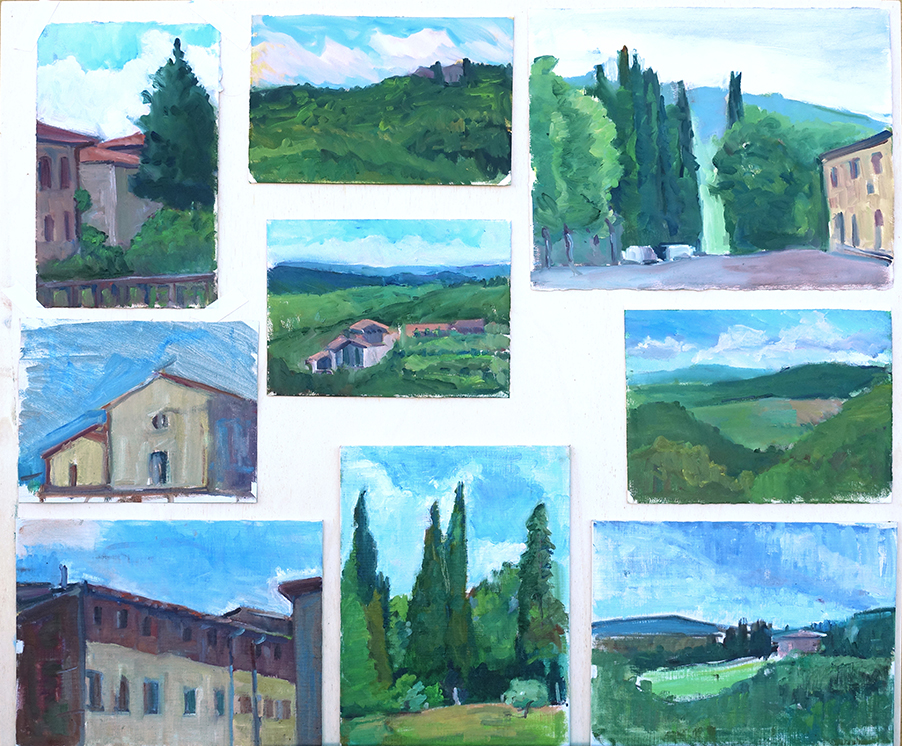 Collection of paintings by Frank