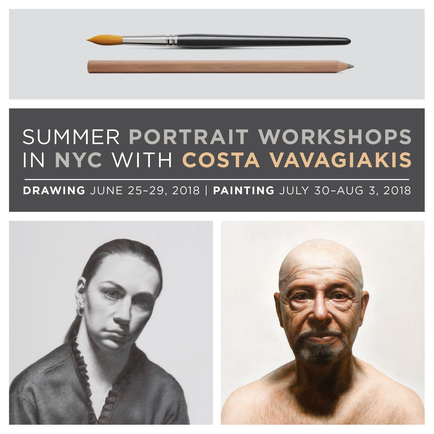 Announcing 2018 NYC Summer Portrait Workshops